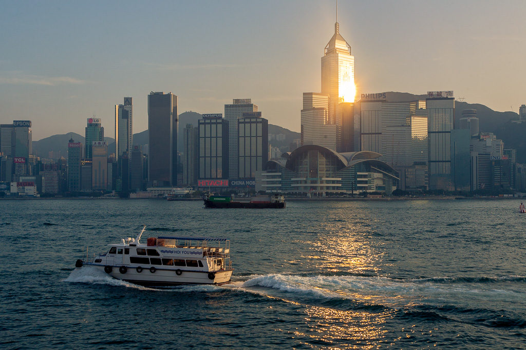 Skyskrapor, Hongkong Island