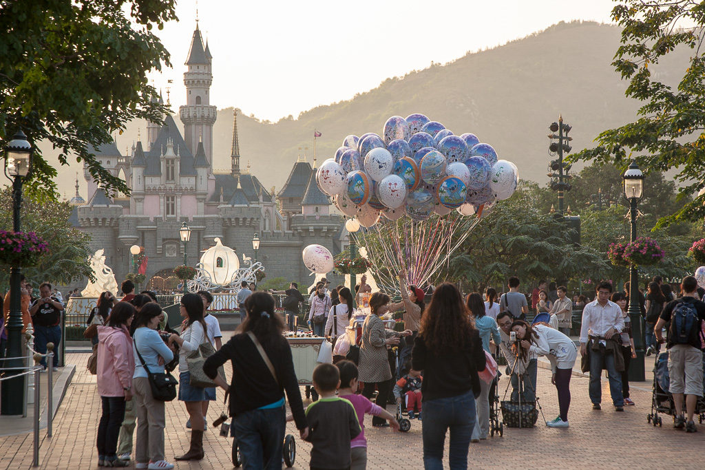 Hongkong, Disneyland, Resort