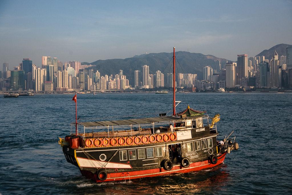 Djonk, Hongkong