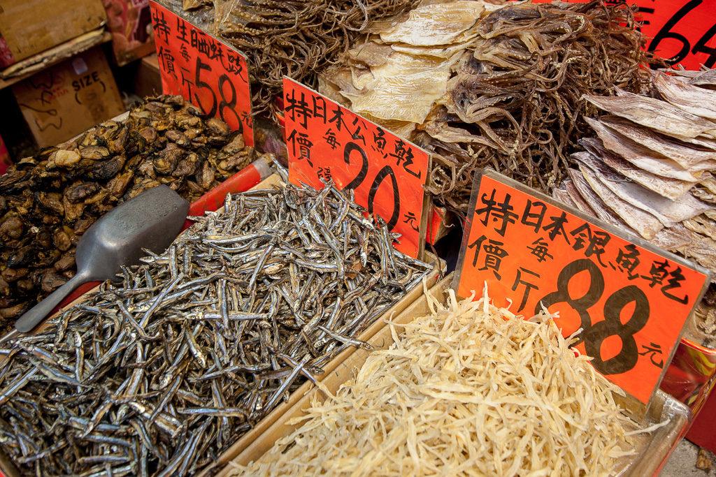 Hongkongs myllrande matmarknader
