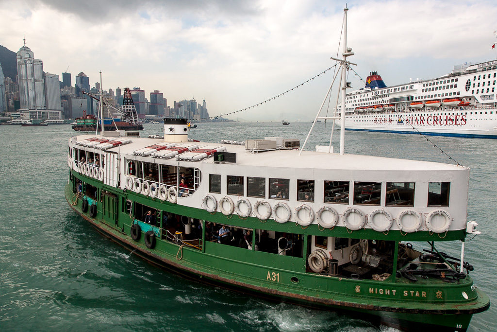Star ferries, Hongkong