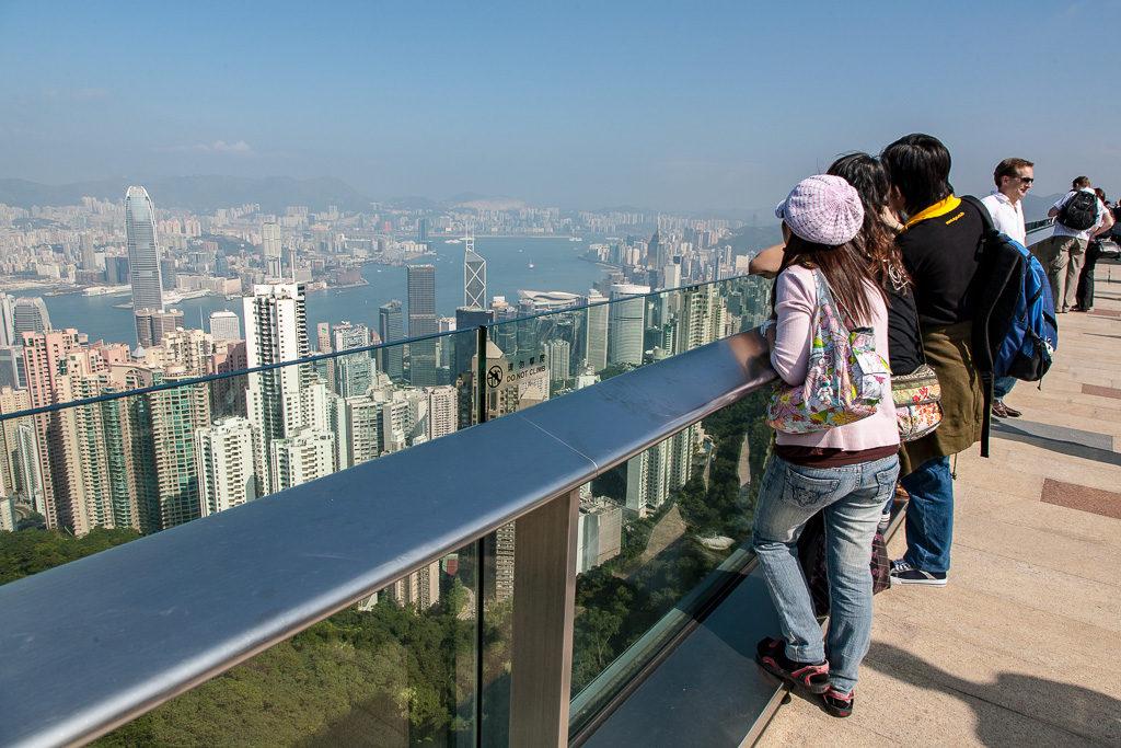 utsikt, Hongkong, Victoria Peak